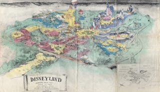 An Incredibly Rare Glimpse of How Disneyland Was Supposed to Look
