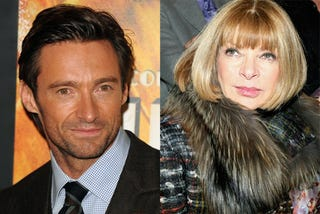 Illustration for article titled Anna Wintour & Hugh Jackman Are Up To Something