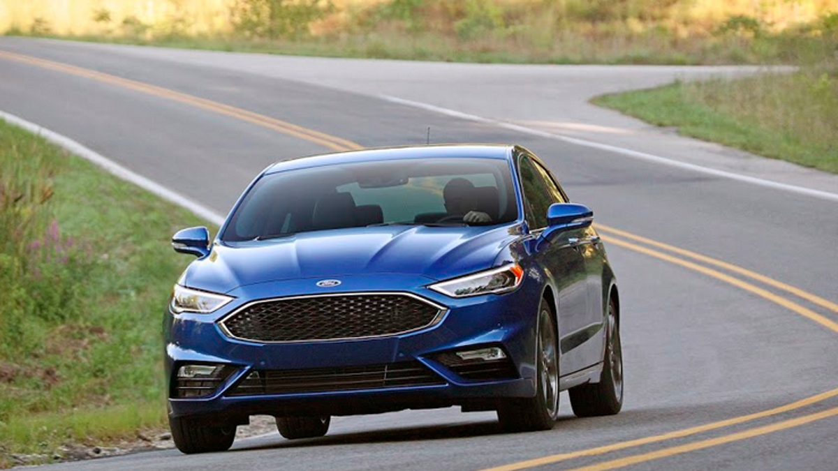 The 325 Horsepower 2017 Ford Fusion Sport Is Not The Audi-Slayer We