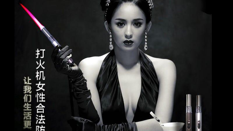 Las mujeres en China están comprando lanzallamas de bolsillo para defenderse de las agresiones sexuales