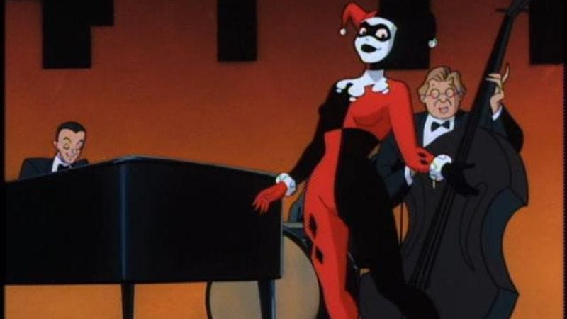 "Illustration for article titled Batman: The Animated Series: ""Harlequinade"""