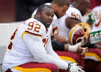 Illustration for article titled Albert Haynesworth Continues To Out-Haynesworth Himself