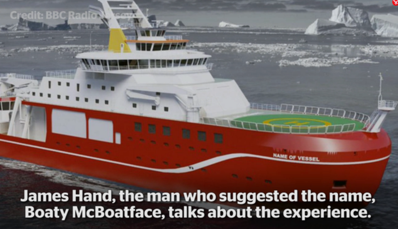Illustration for article titled UK Research Vessel May Be Named 'Boaty McBoatface' By Popular, Awesome Vote