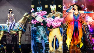 Illustration for article titled Katy Perry's Tour Outfits Are Campy, Sparkly and a Little Insane