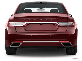 Illustration for article titled I think the Continental has the best rear on any sedan under $100k