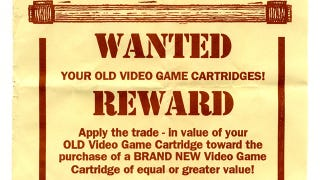 Illustration for article titled GameStop's Trade-In Program, the 1993 Edition