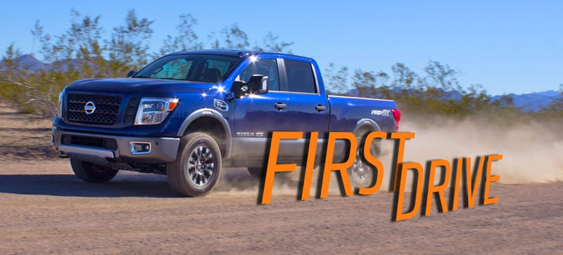 Illustration for article titled 2016 Nissan Titan XD: It's Good Enough To Make You Reconsider Your Brand Loyalty