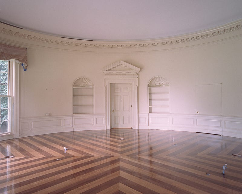 What the Oval Office Looks Like Empty