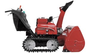 Illustration for article titled Plowing a Quarter Inch of Snow Feels Less Guilty With a Hybrid Snowblower