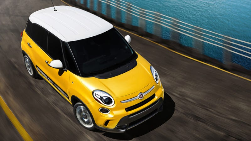 Illustration for article titled Fiat 500L: The Fiat That Thinks It's A MINI Countryman