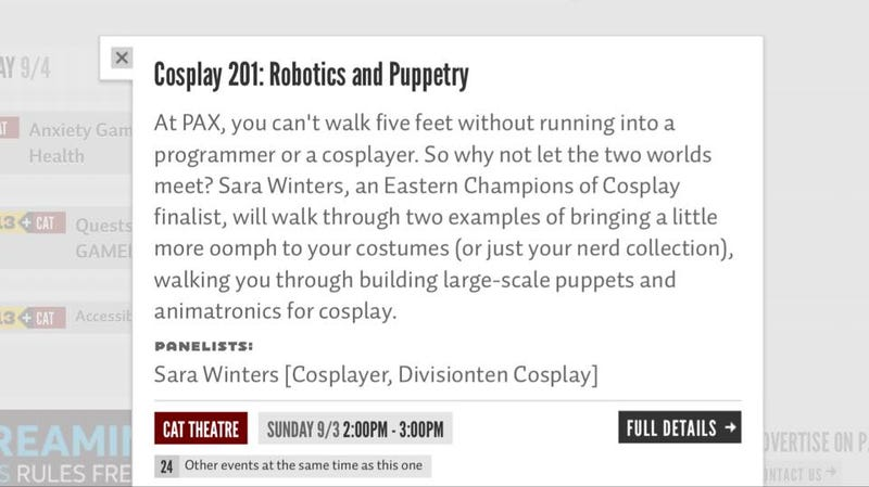Illustration for article titled CospLAZY Live at PAX!