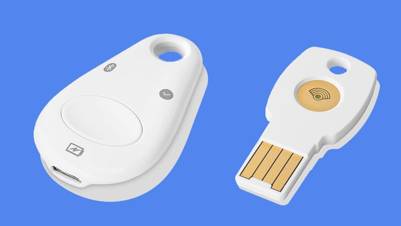 Illustration for article titled Google Wants You to Use Physical Security Keys So Bad It's Willing to Sell You One