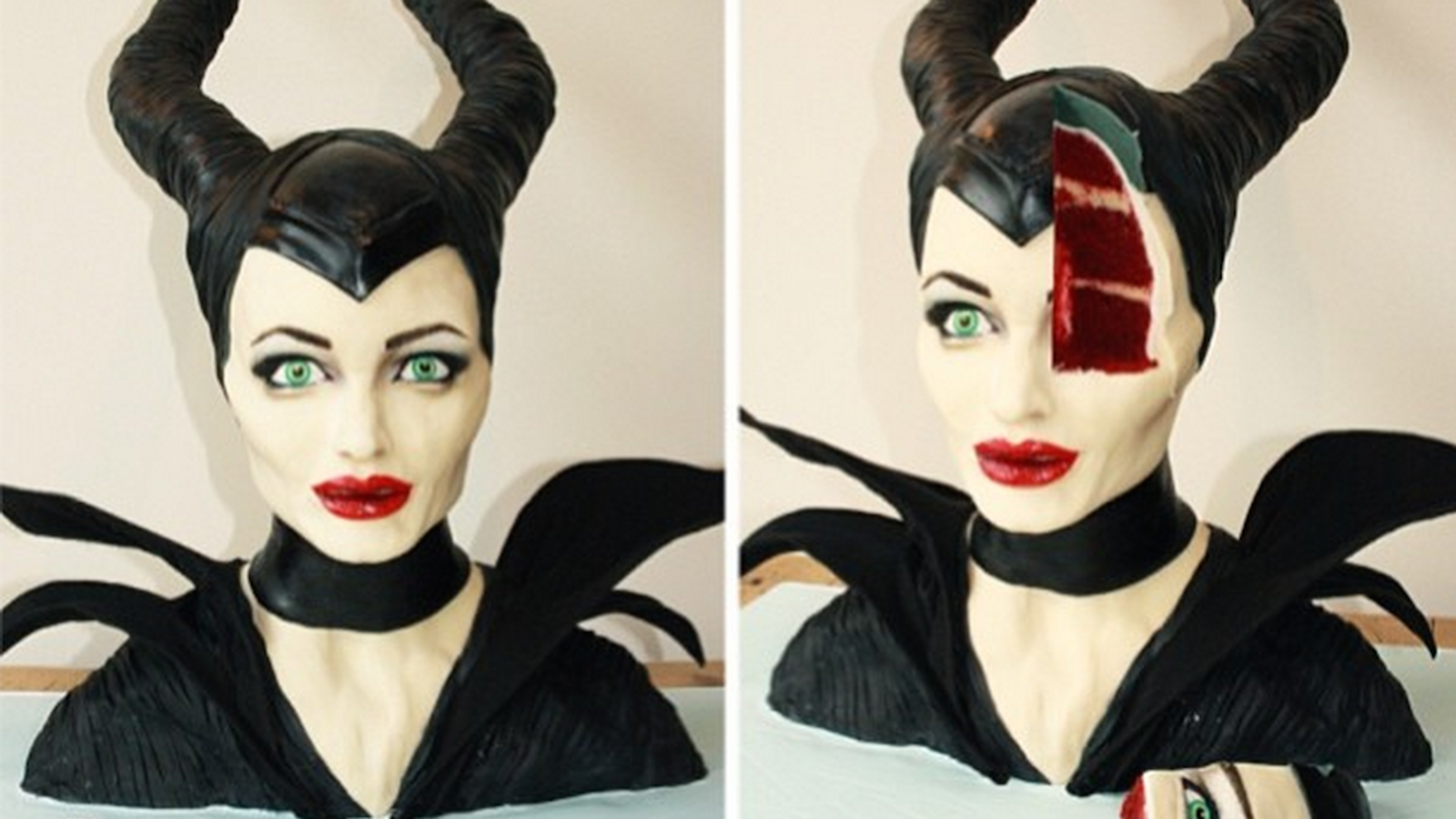 Maleficent Cake Is Crazy Realistic Deeply Unsettling Delicious