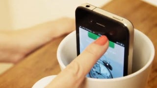 Illustration for article titled CupChair App Lets You Take 360 Degree Pictures With Just an iPhone and a Cup