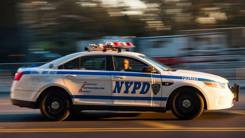 An NYPD cruiser on Nov. 23, 2017.