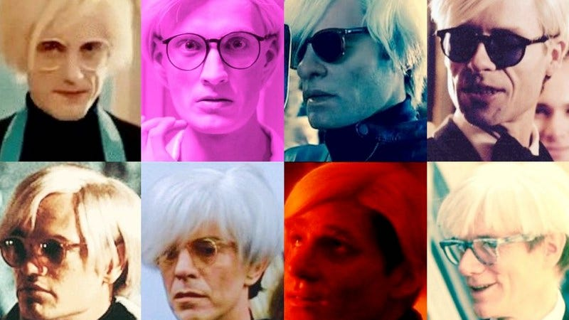 Illustration for article titled Factory made: 8 movie and TV versions of Andy Warhol