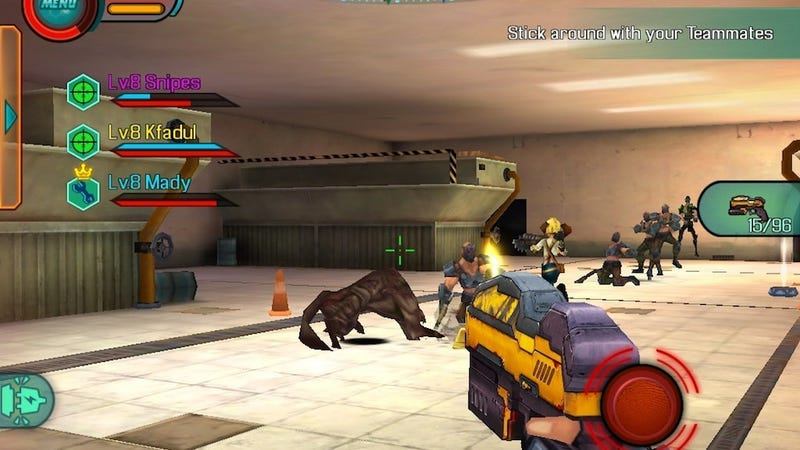 Illustration for article titled This Sure Looks Like A Knockoff Borderlands Game For Your iOS Device
