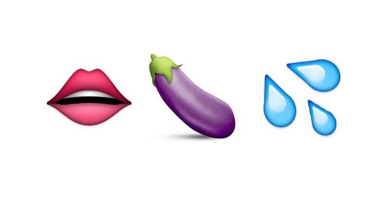 Illustration for article titled Sex Lives helps you determine which new emoji to use when sexting