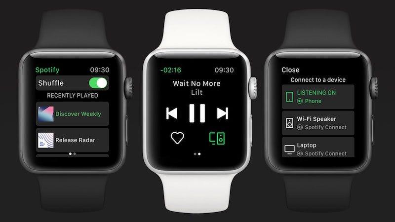 Después de meses de rumores, Spotify lanza una aplicación para Apple Watch.