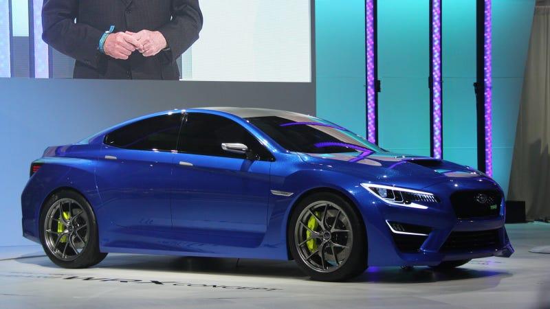 The Subaru WRX Concept Is So Hot It Will Melt Your Eyeballs