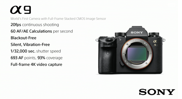 Sony Rivals Canon\'s Best Camera with the Badass A9 | Gizmodo UK