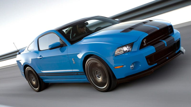 The 2013 Shelby GT500 actually has a top speed of 202 MPH