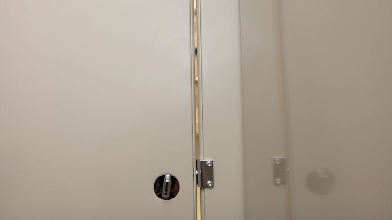 WASHINGTONu2014Introducing A New Measure Set To Be Implemented Nationwide,  Officials Announced That Gaps In Restroom Stall Doors In American  Workplaces, ...