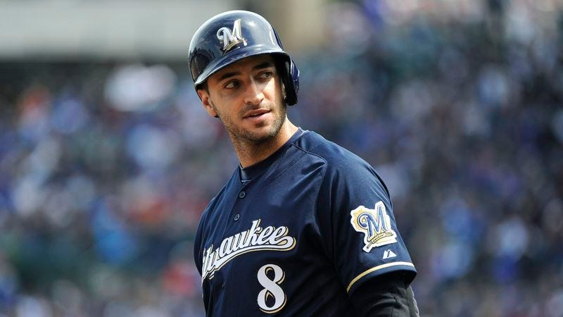 Illustration for article titled Brewers Worried Ryan Braun Suspension Might Put Season In Jeopardy
