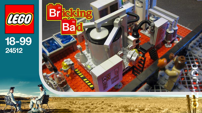 Illustration for article titled Lego Breaking Bad Set Will Never Happen But We Want It Anyway