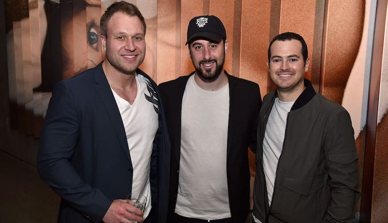 Jon Paul Piques, center, is one of the internet stars Facebook is paying to use its Live platform (Image: Getty)