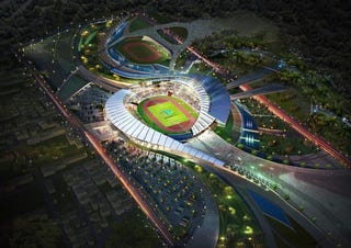 Illustration for article titled A True Foreign Beauty: The Winning 2014 Asian Games Stadium Design