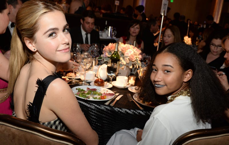 Illustration for article titled Kiernan Shipka Says She and Amandla Stenberg Were Once in a Lunchables Commercial Together