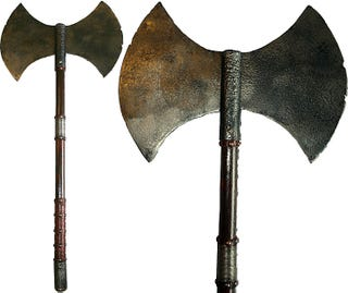 Illustration for article titled Open Thread- Some days you just need a battle axe