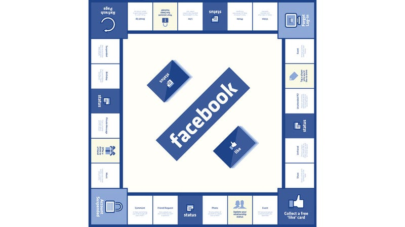 Illustration for article titled If Facebook Was a Board Game