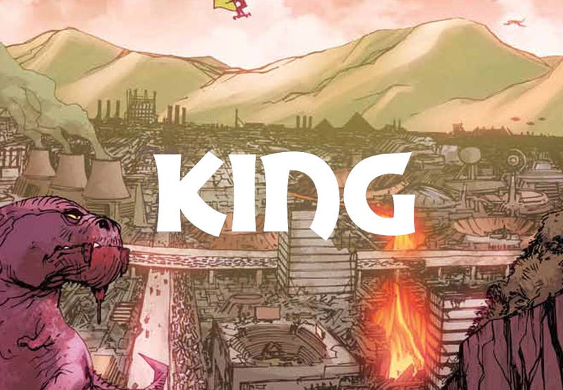 Illustration for article titled All Hail King, A Comic You Should Be Hyped For