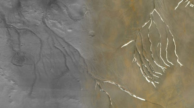 Ancient Mars May Have Been Less Wet Than We Thought
