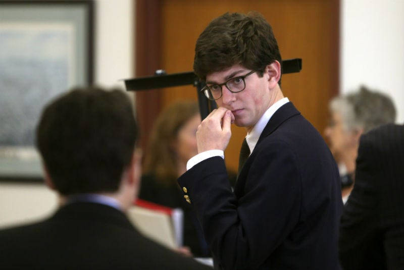 Illustration for article titled Owen Labrie Sentenced to One Year in Jail For Violating His Probation