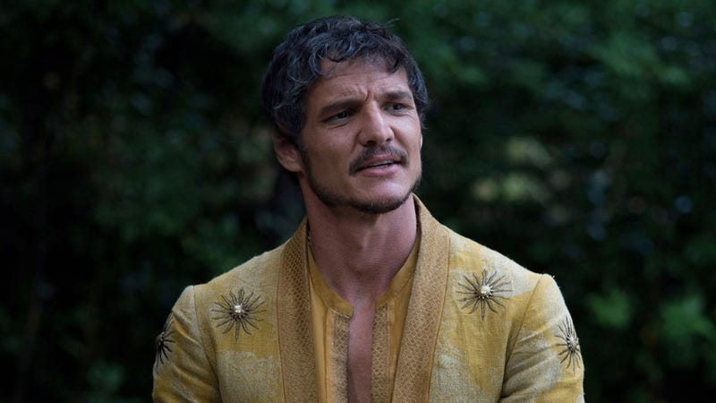 Pedro Pascal on Game of Thrones.