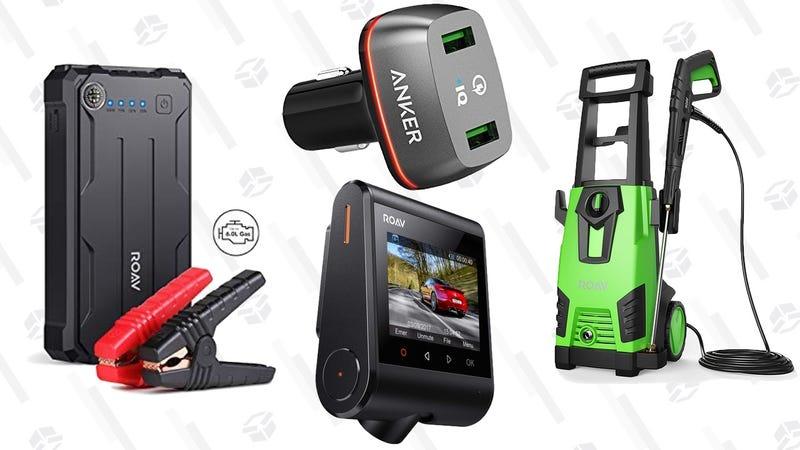Anker Roav 800A USB Battery/Jump Starter | $75 | AmazonAnker Roav Dashcam S1 | $72 | AmazonAnker Quick Charge 2.0 36W Dual USB Car Charger | $12 | AmazonAnker Roav Pressure Washer | $116 | Amazon