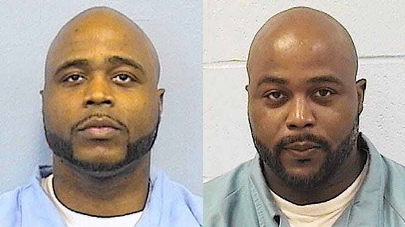 Identical twins Karl Smith and Kevin DugarIllinois Department of Corrections