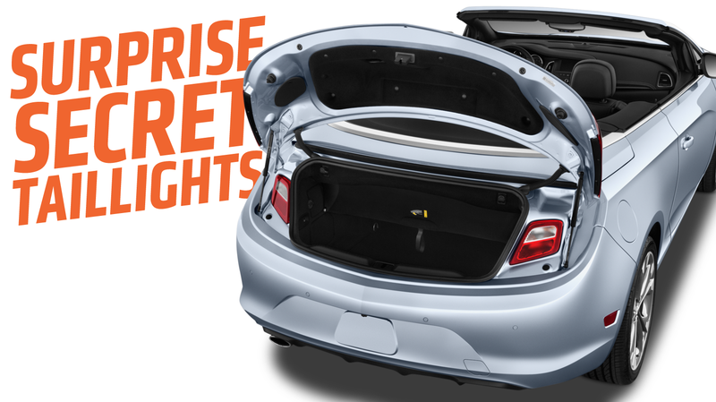 Illustration for article titled This Is Why Some Cars Have Secret Taillights Inside Their Trunks
