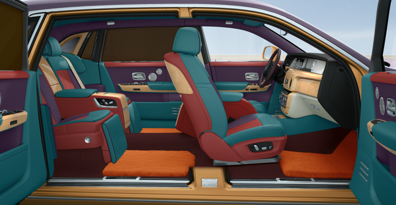 Illustration for article titled The Rolls Royce Phantom VIII Configurator is...Interesting