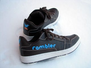 Illustration for article titled Rambler Sneakers Tweet Every... Single... Step