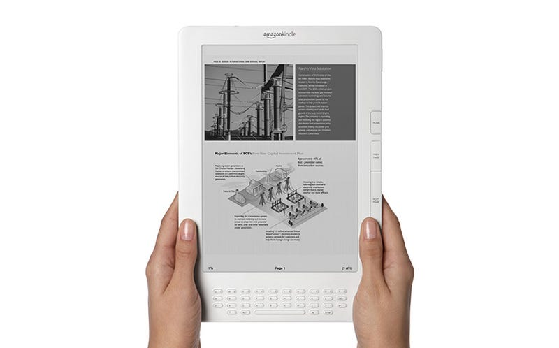 Illustration for article titled Kindle DX Offers 9.7 Inches of E-Ink for $489