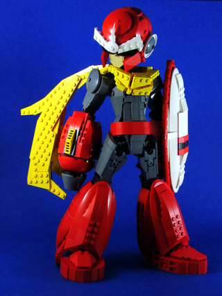 Illustration for article titled Mega Man's older brother in excellent form