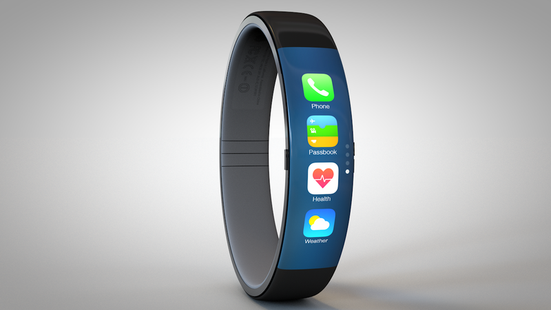 Illustration for article titled Una nueva patente de Apple da pistas sobre el futuro iWatch