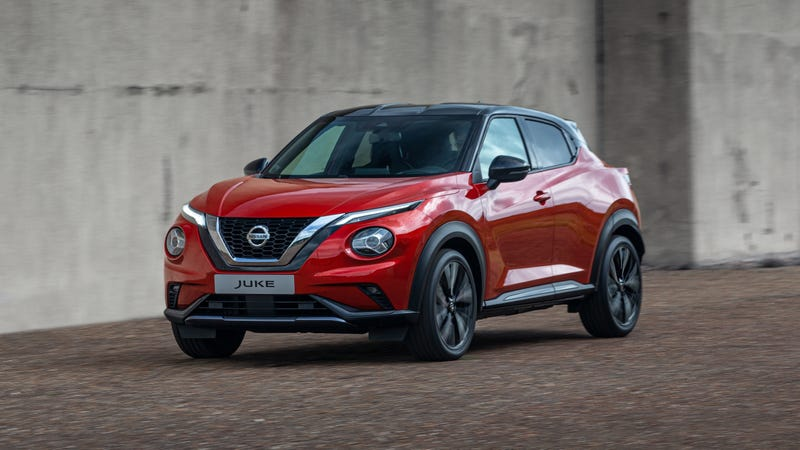 Illustration for article titled The Nissan Juke Is Back In Europe With Toned-Down Looks