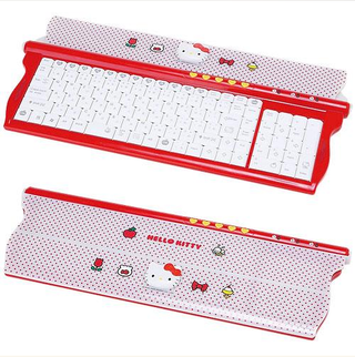 Illustration for article titled Hello Kitty Keyboard Has Me Reaching for a Hammer