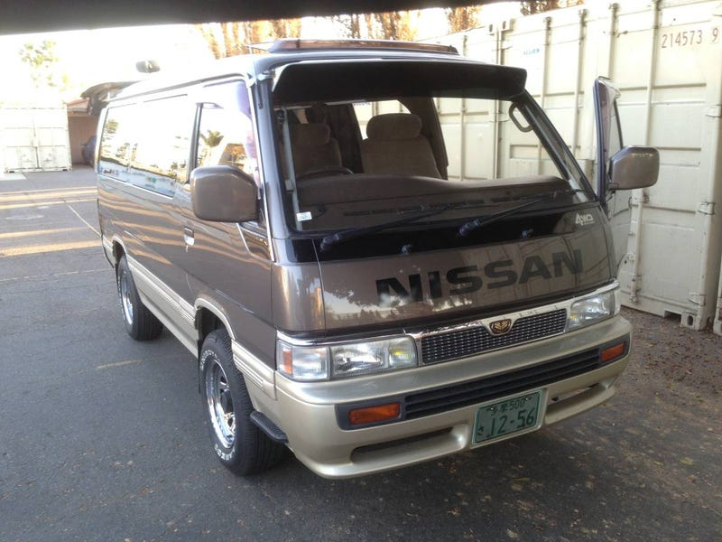 Illustration for article titled For $14,000, Would This 1992 Nissan Caravan Limousine Make Your Grandma Jealous?