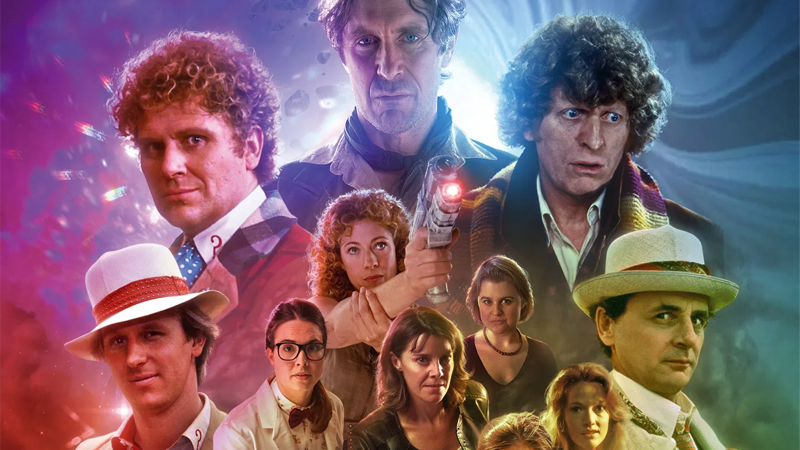"""Cover art from """"The Legacy of Time,"""" Big Finish's bumper 20th anniversary story coming this year."""
